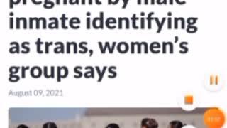 California Female inmate gets pregnant by transgender inmate sb132