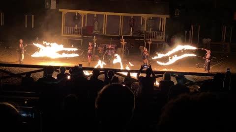 Fire Show Video
