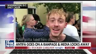 Tucker Carlson highlights Antifa threats to kill President Trump