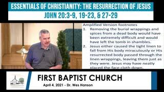 Adult Sunday School - April 4, 2021
