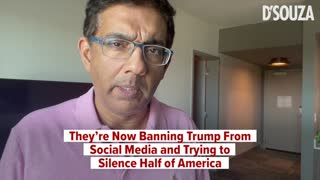They're Now Banning Trump From Social Media and Trying to Silence Half of America