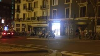 Night Barcelona City
