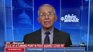 Dr. Fauci: 'I Hope' We'll Be 'Normal' by 'Next Mother's Day' with 'Some Conditions'