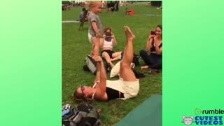 Mother raising her son