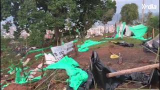 Autoridades desalojan predios invadidos en los Cerros Orientales de Bucaramanga 2