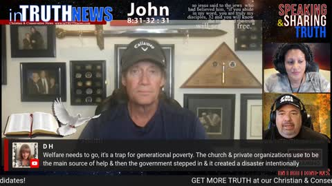 IN TRUTH NEWS with special guest: Actor/Writer/Producer Kevin Sorbo on Monday, July 12th, 2021
