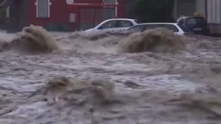 Massive rain in Europe