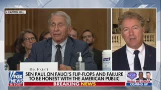 Hannity: Rand Paul GOES OFF on Dr. Fauci's LIES