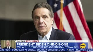 FLASHBACK: Biden Said Cuomo Should Resign/Be Prosecuted If Harassment Claims Are True