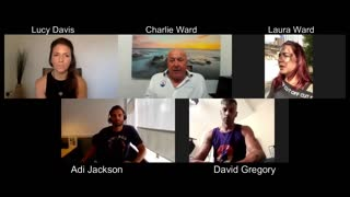 Charlie Ward Show with Adi Jackson, Lucy Davis, Laura Ward and David Gregory.