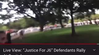 Armed Person Detained at J6 Rally is