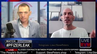 #PfizerLEAK - Author of Viral Twitter Post Validates Document LIVE on Stew Peters Show