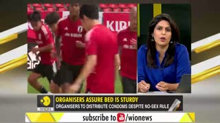 Anti-sex beds at Tokyo Olympics?