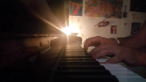 """""""UN'ESTATE ITALIANA"""" (NOTTI MAGICHE) di Gianna Nannini & Edoardo Bennato - mini piano-cover"""