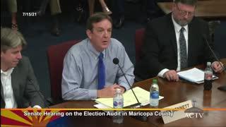 FULL Arizona Audit Hearing On The 2020 Election Audit Of Maricopa County 7/15/21