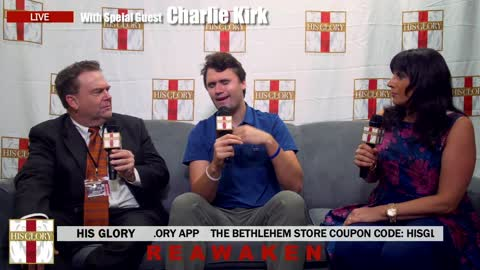 Charlie Kirk GR His Glory