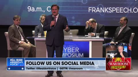 Mike Lindell Opens Cyber Symposium With A Bang