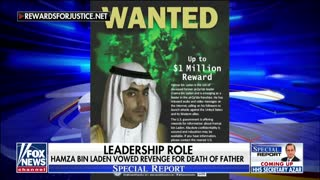 Bret baier delivers the news Hamza bin Laden is dead