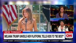 April Ryan says Melani trump isn't American enough
