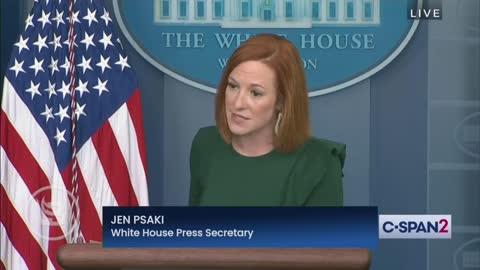 Biden's Press Sec Jen Psaki clearly has no brain
