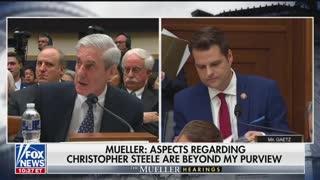 Hearing: Gaetz questions Robert Mueller