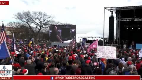 InfoWars Host Alex Jones @ Stop The Steal Rally #MarchForTrump