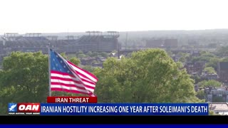 Iranian hostility increasing one year after Soleimani's death