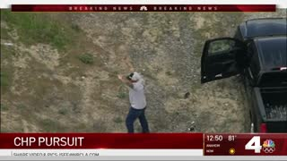 High Speed Pursuit of Possibly Armed Narcotics Violation Suspect in California