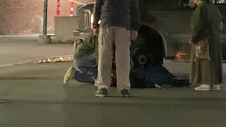 Woman Stuck Under Truck Tire After Car Park Collision