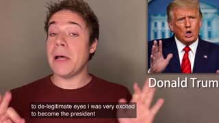 Joe Biden and Donald Trump impersonations by Gabriel Brown