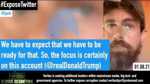 Twitter Jack Dorsey caught!! #ExposeTwitter- Part 1