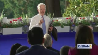 """""""What the Hell"""" Biden SNAPS at CNN Reporter Over Question on Putin"""