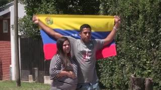Venezolano caminó hasta Argentina para ver nacer a su hijo