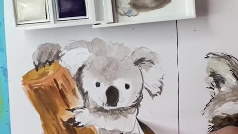 Kirby the Koala tutorial