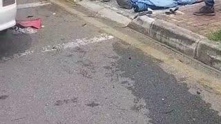 Motociclista perdió la vida en la Avenida La Rosita de Bucaramanga