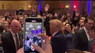 CROWD GOES WILD FOR PRESIDENT TRUMP AT UFC!
