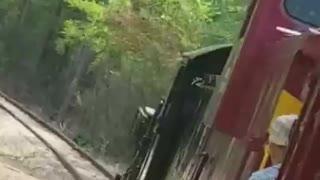 Steam Locomotive Side Rod Action.