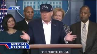 Trump teste covid