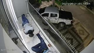 En video quedaron registrados Los Escaladores