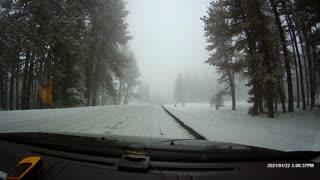 Driving through Chief Joseph