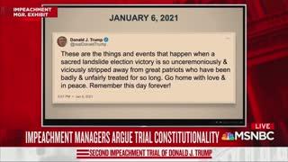 Cicilline And Trump Impeachment Tweet