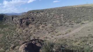 G Mountain with Ryze Tello Drone goingbackdown