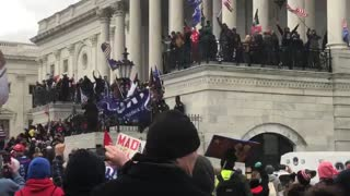 WATCH: Trump Supporters Storm Capitol Building