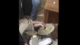 Graves into Grdens (drum/bass cover)