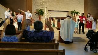 Max Jeremiah Baptismal Blessing