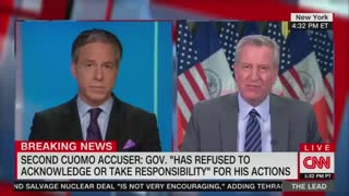 NY Mayor De Blasio TORCHES Governor Cuomo for His Response to Assault Allegations