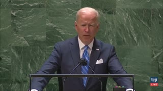 """Biden to UN: Climate Change is """"Code Red for Humanity"""""""