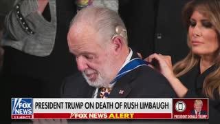 Former President Donald Trump Discusses Rush Limbaugh