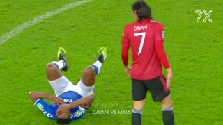 famous football player fight 2021
