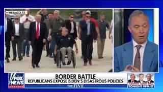 Trump, Abbott rip Biden over border policies, emboldening smugglers